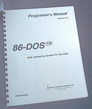QDOS - Programer's Reference (sic)