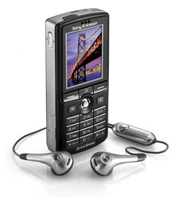 Sony Ericsson K750i μαύρο