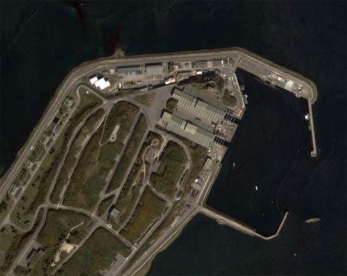 French submarine base laid bare