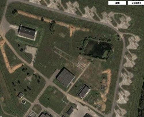 Moscow anti-ballistic missile silo