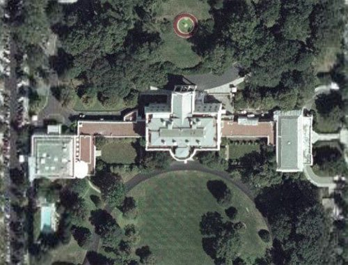 The White House roof in all its glory