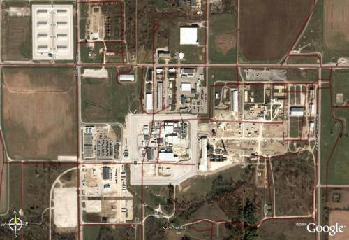 Newport Chemical weapons depot, Indiana