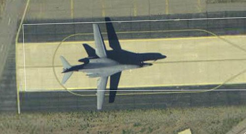 A B1-B at Hill AFB, Utah