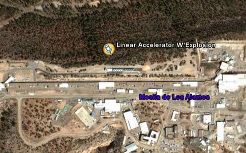 The linear partical accelerator at Los Alamos National Laboratory