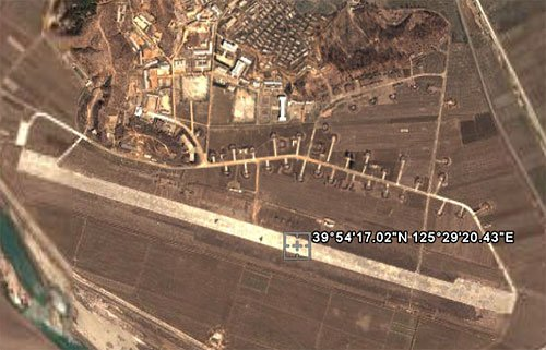 North Korean air base