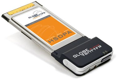 Option GlobeTrotter HSDPA card