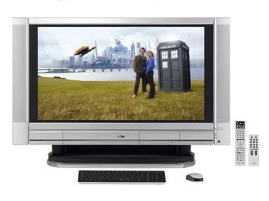 fujitsu deskpower tx90s/d lcd tv pc