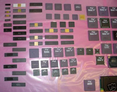 intel processor collection on ebay
