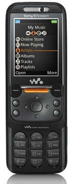 sony ericsson walkman w850