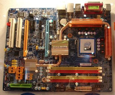 gigabyte intel g965-based mobo
