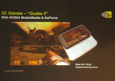 quake iii handheld version