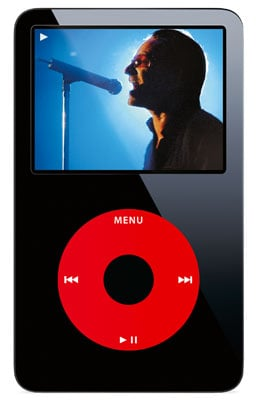 apple u2 30gb ipod