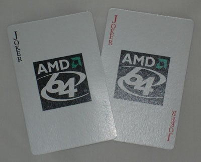 amd joker playing card