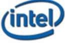 Intel logo tea