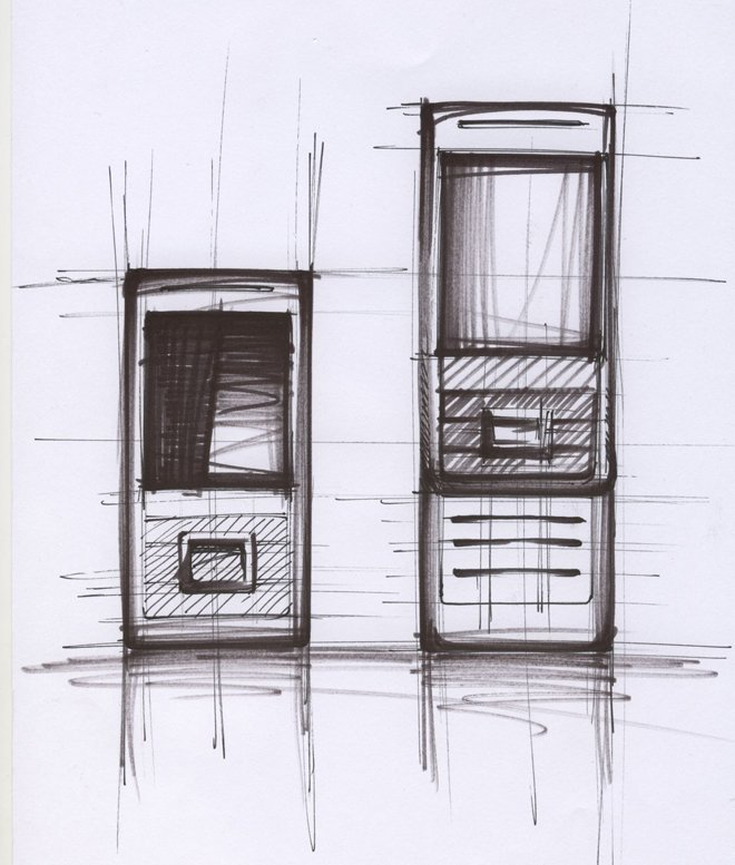BenQ Siemens EL71 design sketch