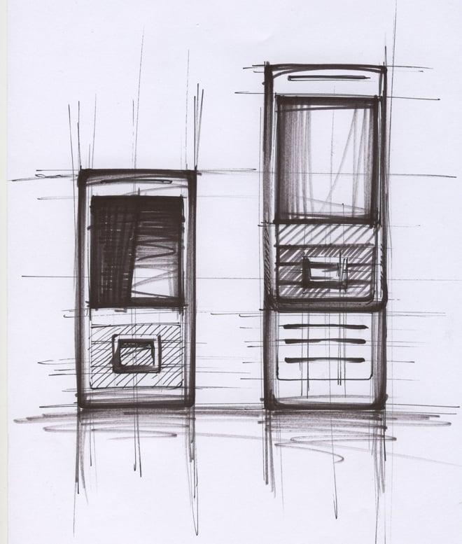 BenQ Siemens EL71 design sketch