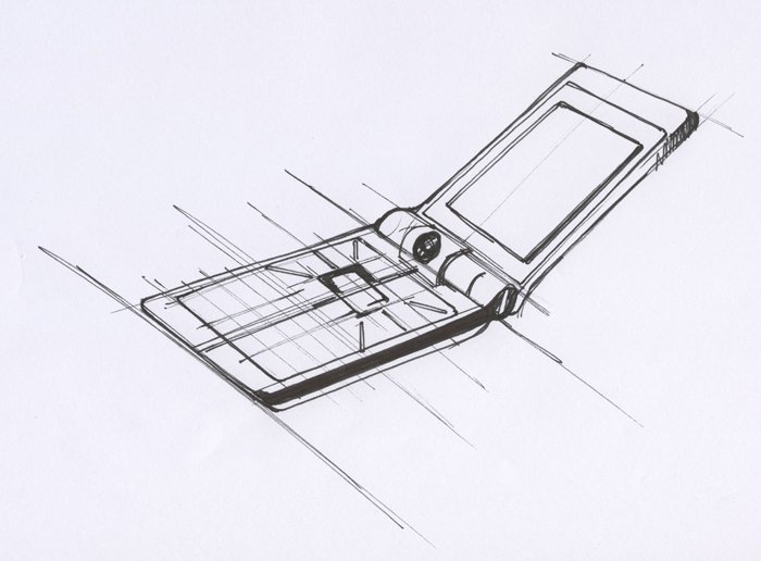 BenQ Siemens EF81 design sketch