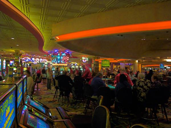 An illustrative shot of the casino
