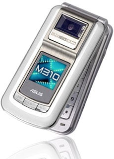 asus m310 clamshell phone