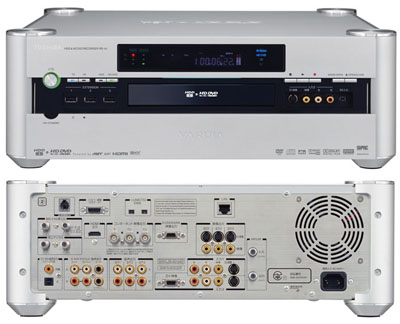 toshiba rd-a1 hd dvd recorder