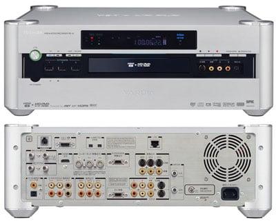 toshiba rd-a1 hd dvd recorder