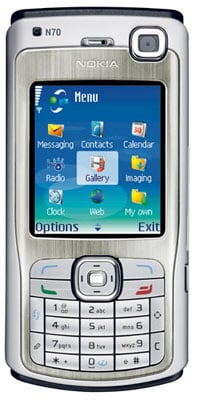 nokia n70 3g phone