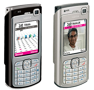Nokia N70 3G phone • The Register