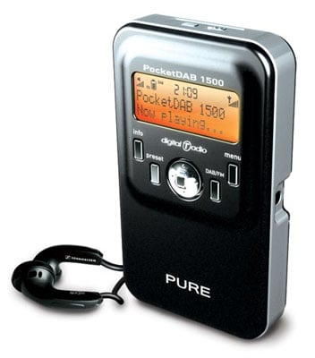 pure pocketdab 1500 digital radio