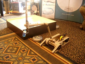 iRobot's Packbot military machine