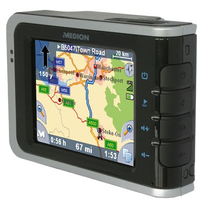 medion gopal pna 500 series gps sat nav gadget