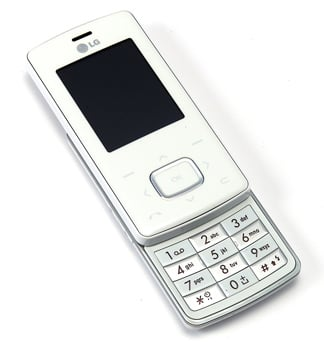 lg white chocolote handset
