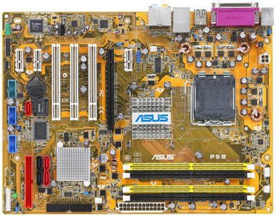 asus p5b conroe mobo