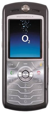 o2 motorola l7 i-mode
