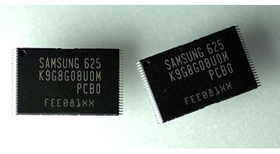samsung 8gb 60nm nand flash chips