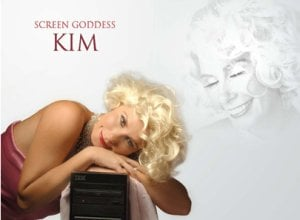 Kim Sheree, CEO of ICT Ecosystems, as Marilyn Monroe