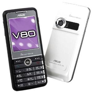 asus v80 slimline mobile phone