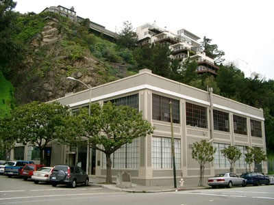 Shot of Farnsworth's Green Street Lab in San Francisco