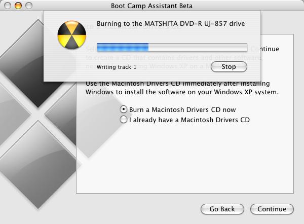 windows on mac - bootcam