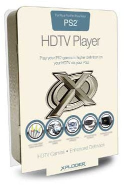 xploder hdtv game player for ps2