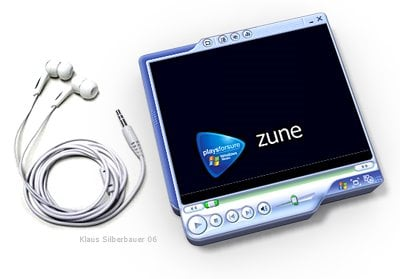 Zune design - image courtesy of klaus silberbauer