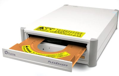 plextor plexeraser dvd/cd wiper