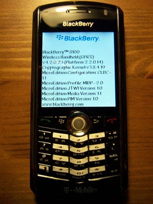 rim blackberry 8100