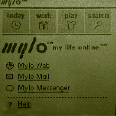 sony my life online welcome screen