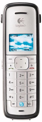 logitech cordless internet phone