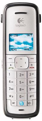 logitech cordless internet phone