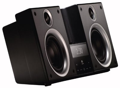 logitech audiostation ipod speaker set