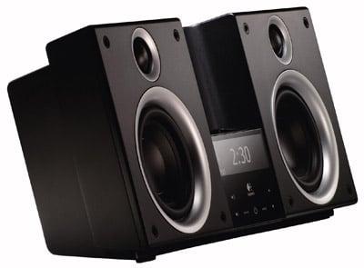 logitech audiostation ipod speaker set