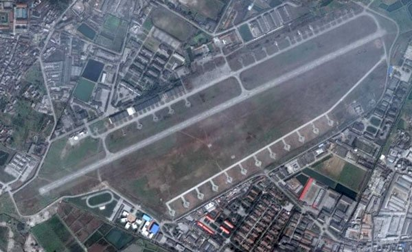 Chengdu airbase