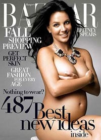 That Britney Spears nude cover in full