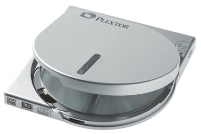 plextor px-608cu slimline portable dvd writer